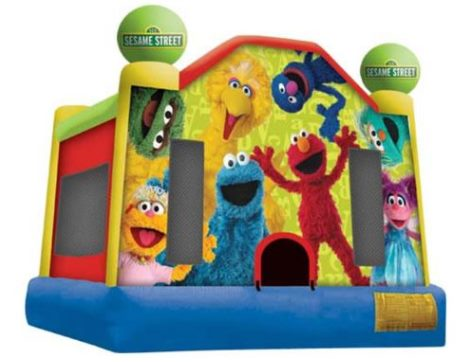 Sesame Street Medium Jumping Castle