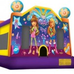 Its A Girls Thing Medium Jumping Castle