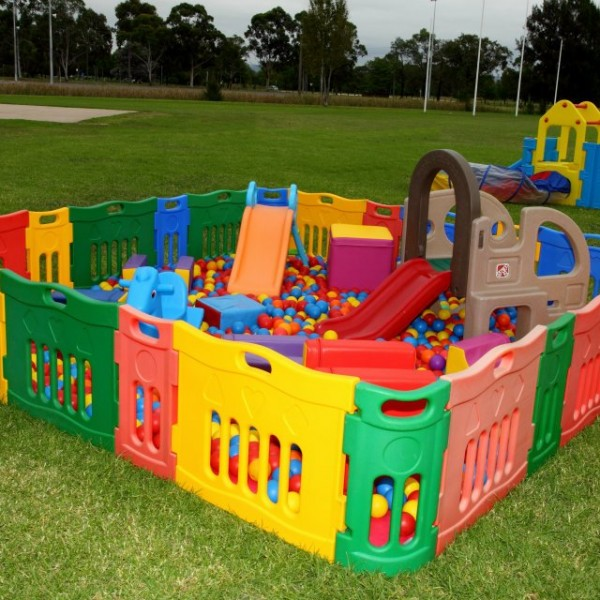 Medium Ballpit + Play Gym + Tunnel Add Ons
