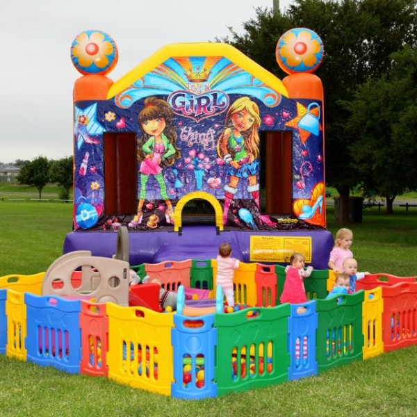 Medium Ballpit & Castle Combo